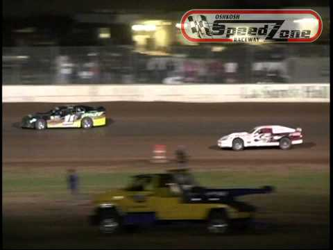 Oshkosh Speedzone Raceway - August 23, 2013 - Modified Feature