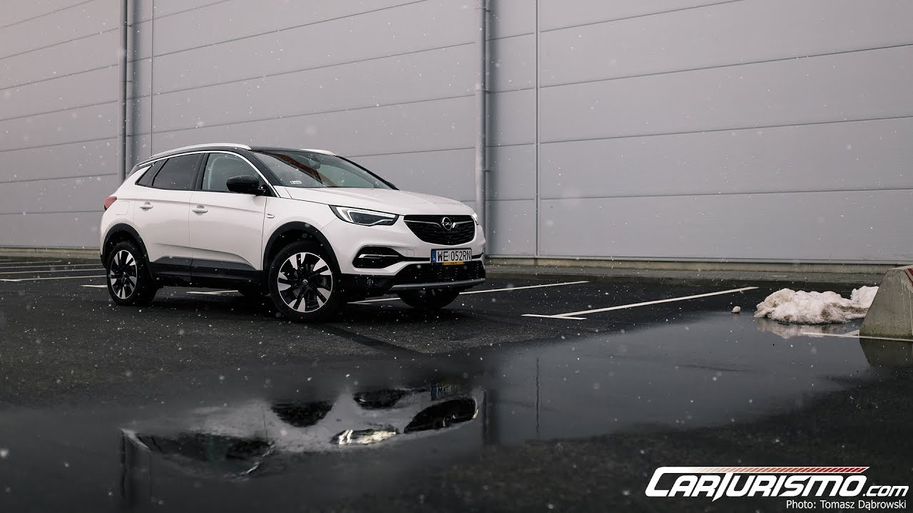 Opel Grandland X 1.2 Turbo test PL Pertyn Ględzi