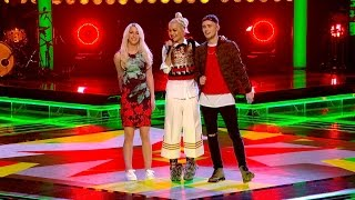 Rita Ora & her team perform Rude - The Voice UK 2015: The Live Semi-Final - BBC One