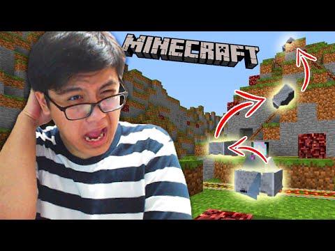 AKU PARKOUR PAKAI KERETA DI MINECRAFT!!! (Minecraft Indonesia)