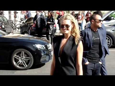 Toni Garrn - Elie Saab SS19 fashion show - 29.09.2018