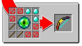 7 IMPOSSIBLE MINECRAFT CRAFTING RECIPES!