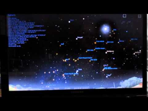 Stellarium Demo Time Lapse Planet Motion