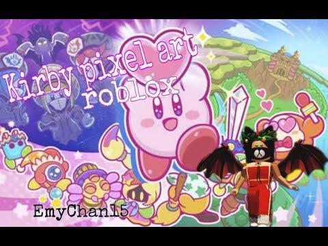 Pixel Art Creator Kirby En Roblox 2speed Youtube