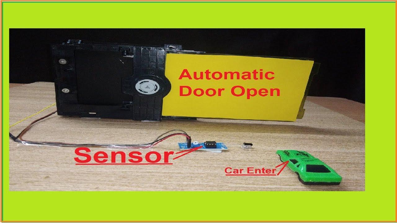    PART-1 इस तरह दरवाजा खुद खुलेगा   How to make a Automatic Door Opening  system using IR sensor