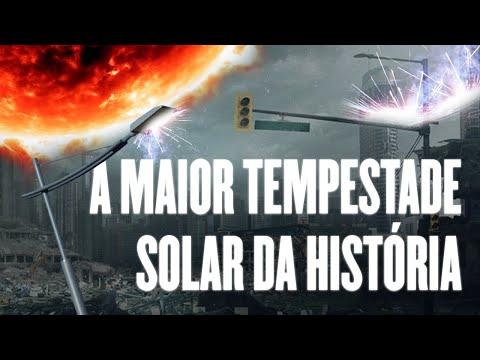 A MAIOR Tempestade Solar da HISTÓRIA