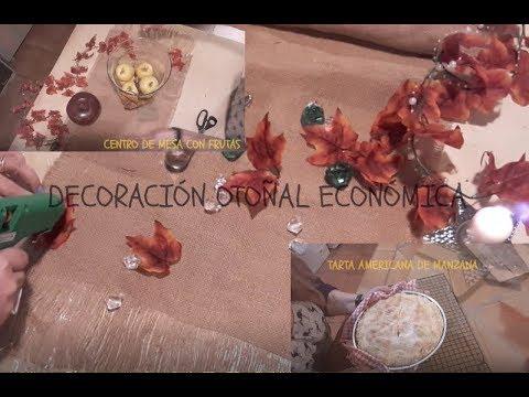 Decoraci n oto al econ mica c mo hacer camino de mesa for Decoracion hogar economica