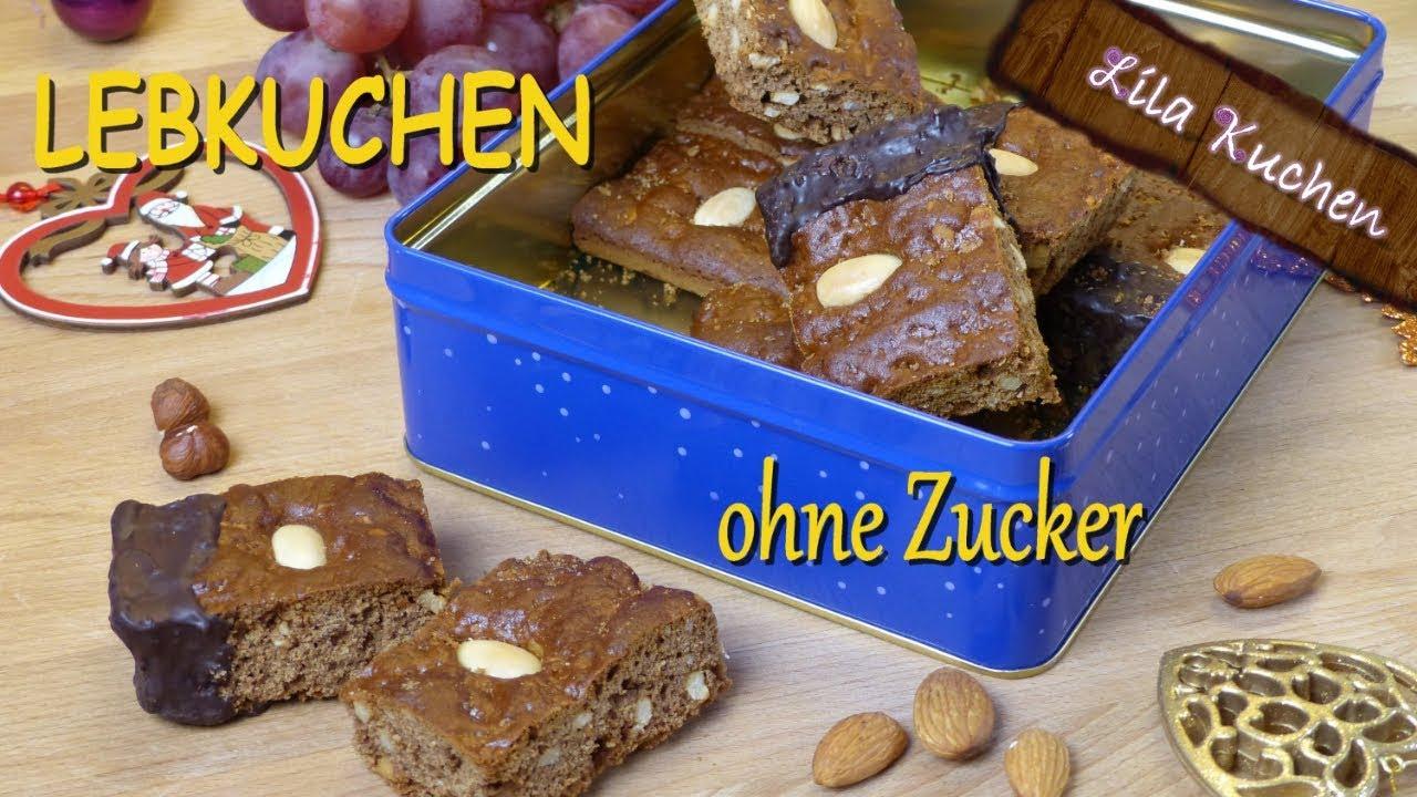 Bestes Lebkuchen Rezept Ohne Raffinierten Zucker Lebkuchen Mit