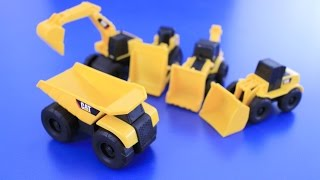 Cat toys - Learning Construction Vehicles Names and Sounds for kids
