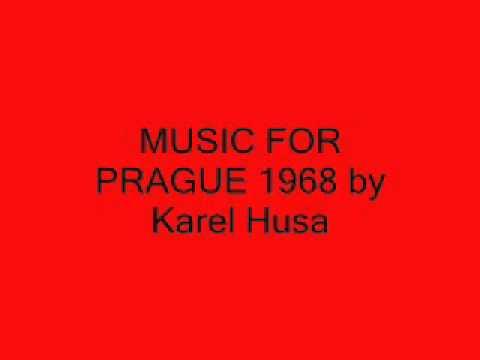 Music for Prague 1968  Karel Husa  KHSM conducted  Steven Walker