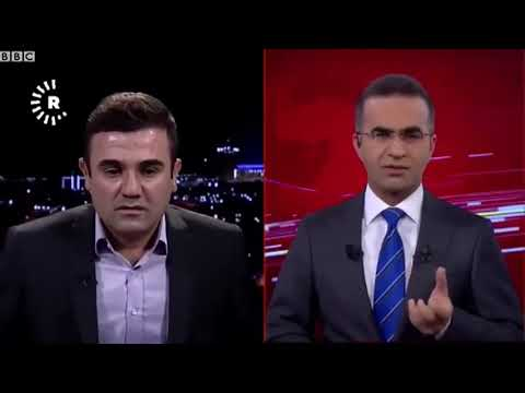 TV channel live on air during Iraq-Iran earthquake