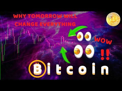 HERE IT COMES!! WHY TOMORROW IS BITCOINS MOST IMPORTANT DATE IN MONTHS