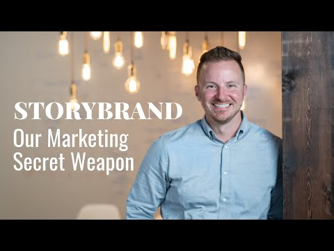 Our Marketing Secret Weapon — The Storybrand Framework