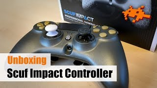 Unboxing Scuf Impact PS4 Controller +Vergleich [deutsch]