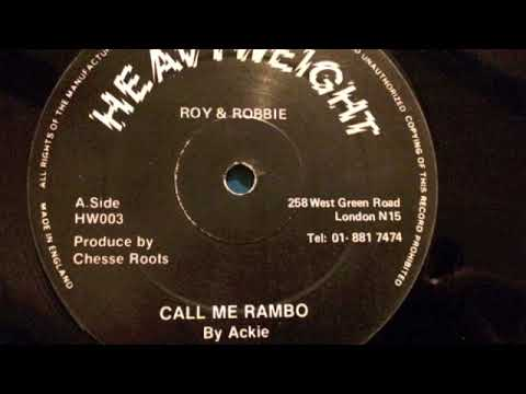 Ackie - Call Me Rambo - Heavyweight