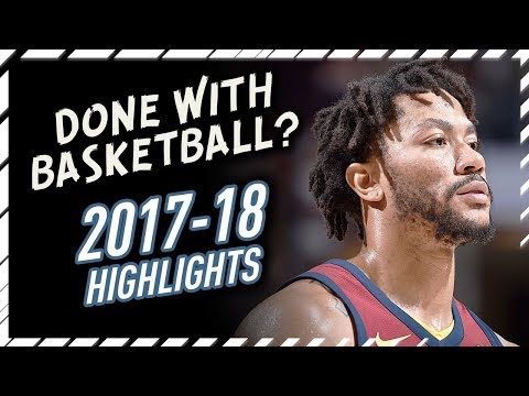 Derrick Rose Leaves Cavaliers! Early Offense Highlights 2017/2018 - Is He Retiring?