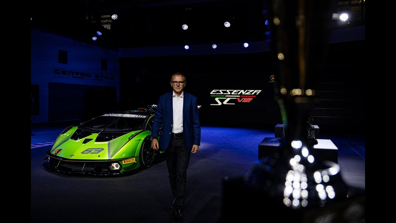 Lamborghini Essenza SCV12 - World Premiere