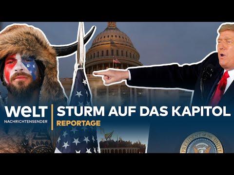 USA: STURM auf das KAPITOL | HD Reportage