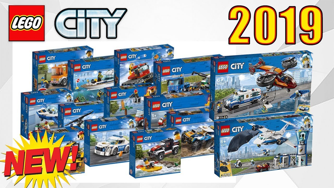 new lego city 2019 sets youtube. Black Bedroom Furniture Sets. Home Design Ideas