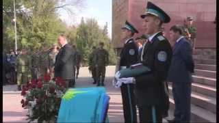 В Шымкенте захоронили останки солдата, считавшегося пропавшим без вести в годы ВОВ