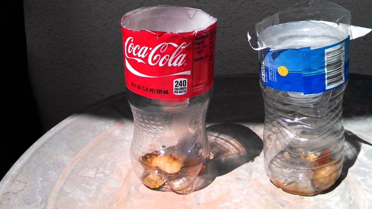 using a coke bottle to catch flies youtube. Black Bedroom Furniture Sets. Home Design Ideas