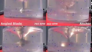 02 Visco Jet viscous mixture vs conventional impellers