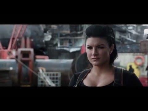 "Deadpool Movie Clip ""Superhero Landing"" - Ryan Reynolds, Gina Carano, Brianna Hildebrand"