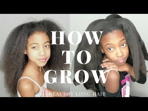 PT. 1: HOW TO GROW HEALTHY LONG HAIR NATURALLY- TIPS & TRICKS