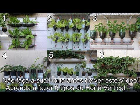 6 Ideias para Você fazer uma Horta Vertical