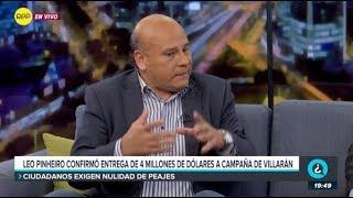 Leo Pinheiro confirmó entrega de 4 millones de dólares a campaña de Susana Villarán