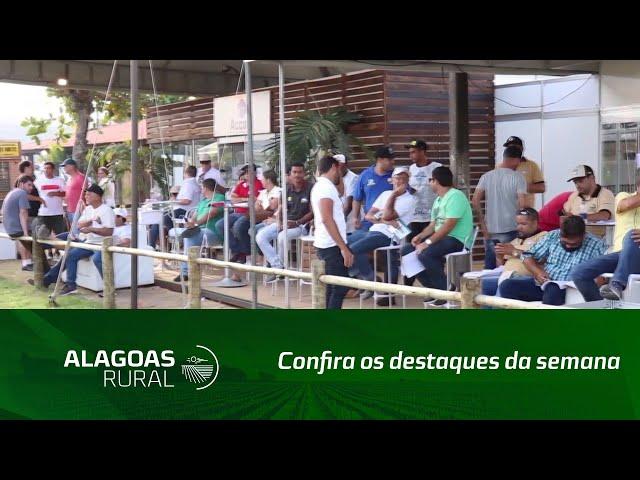 Confira os destaques da semana na Expoagro Alagoas