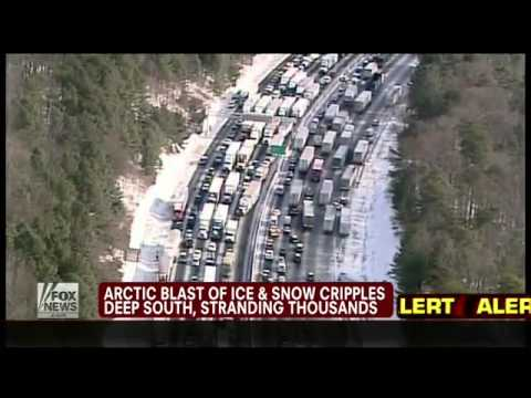 2014 South Freezes - Georgia Emergency Management responds to Storm Criticism