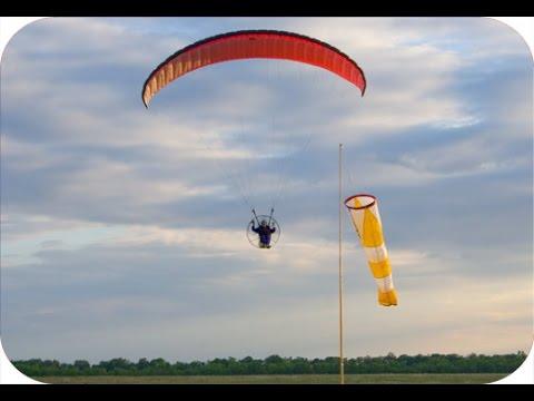 Летательный аппарат с парашютом