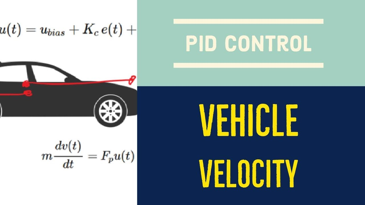 PID Velocity Control in Python