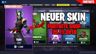 FORTNITE SHOP from 25.11 - 😧 new SKINS 🛒 FORTNITE daily shop today 25 November 2018.