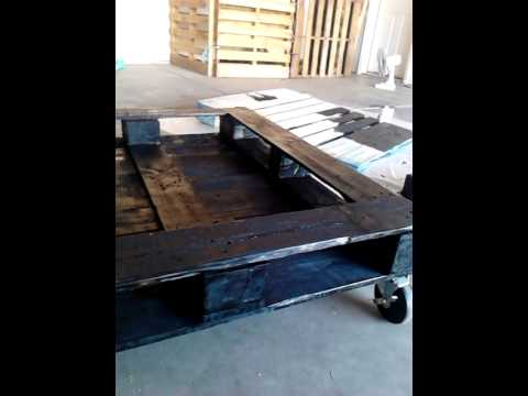 Tortoise pallet coffee table youtube tortoise pallet coffee table solutioingenieria Choice Image