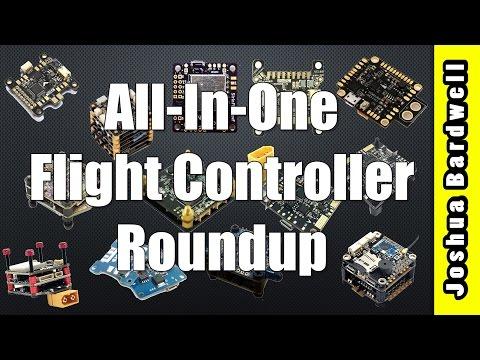 Betaflight / Cleanflight All-In-One (AIO) Flight Controller Roundup