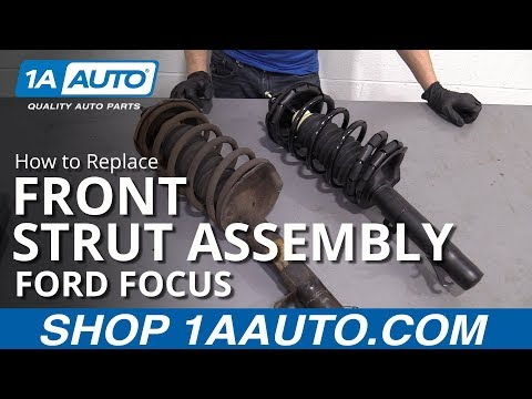 How to Replace Front Strut Assembly 00-05 Ford Focus