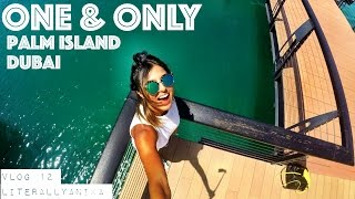 Dubai Vlog 12 -  $$$ Room + Octopus Dish at The One & Only Palm Jumeirah
