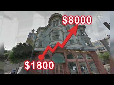 租金一夜暴涨344%! 旧金山房客被逼迁(租金暴涨_租房)