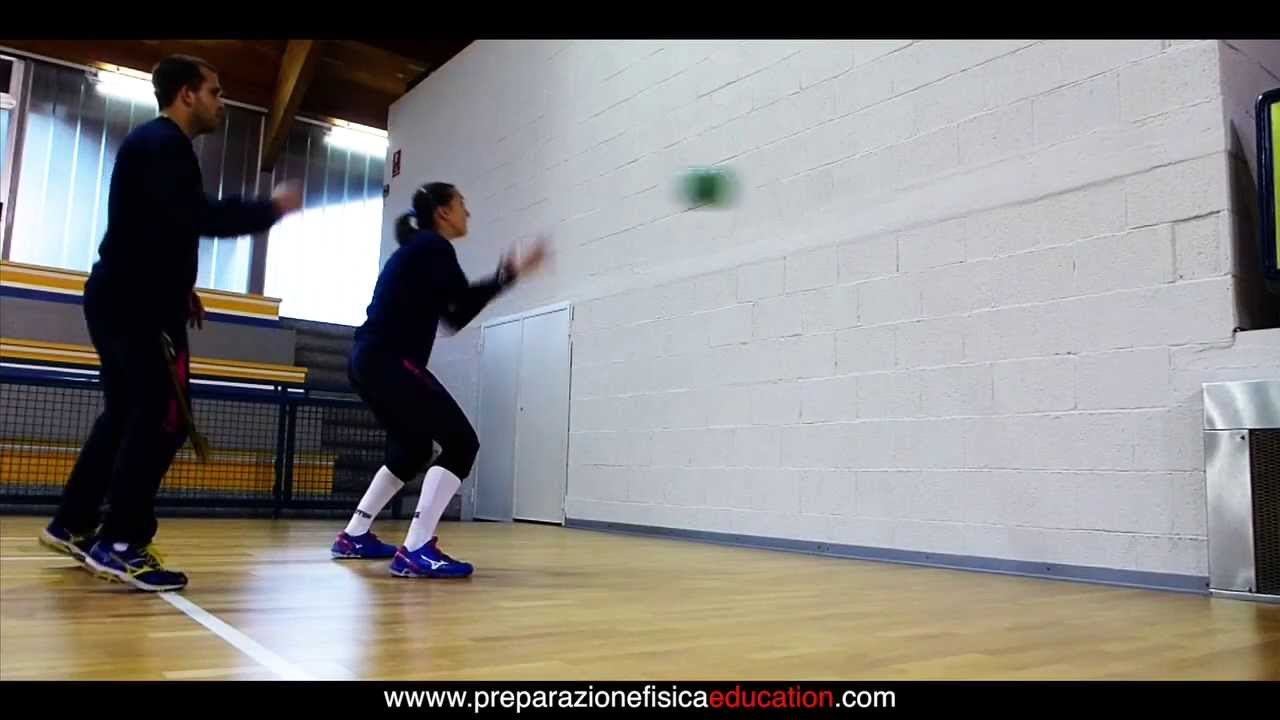 Exercises to improve Reaction Time with Crazy Ball - YouTube