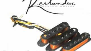 Reilander Custom Guitar Vintage Series Hand Wound Strat Pickups
