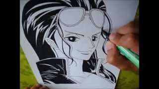 Drawing Nico Robin ニコ ロビン