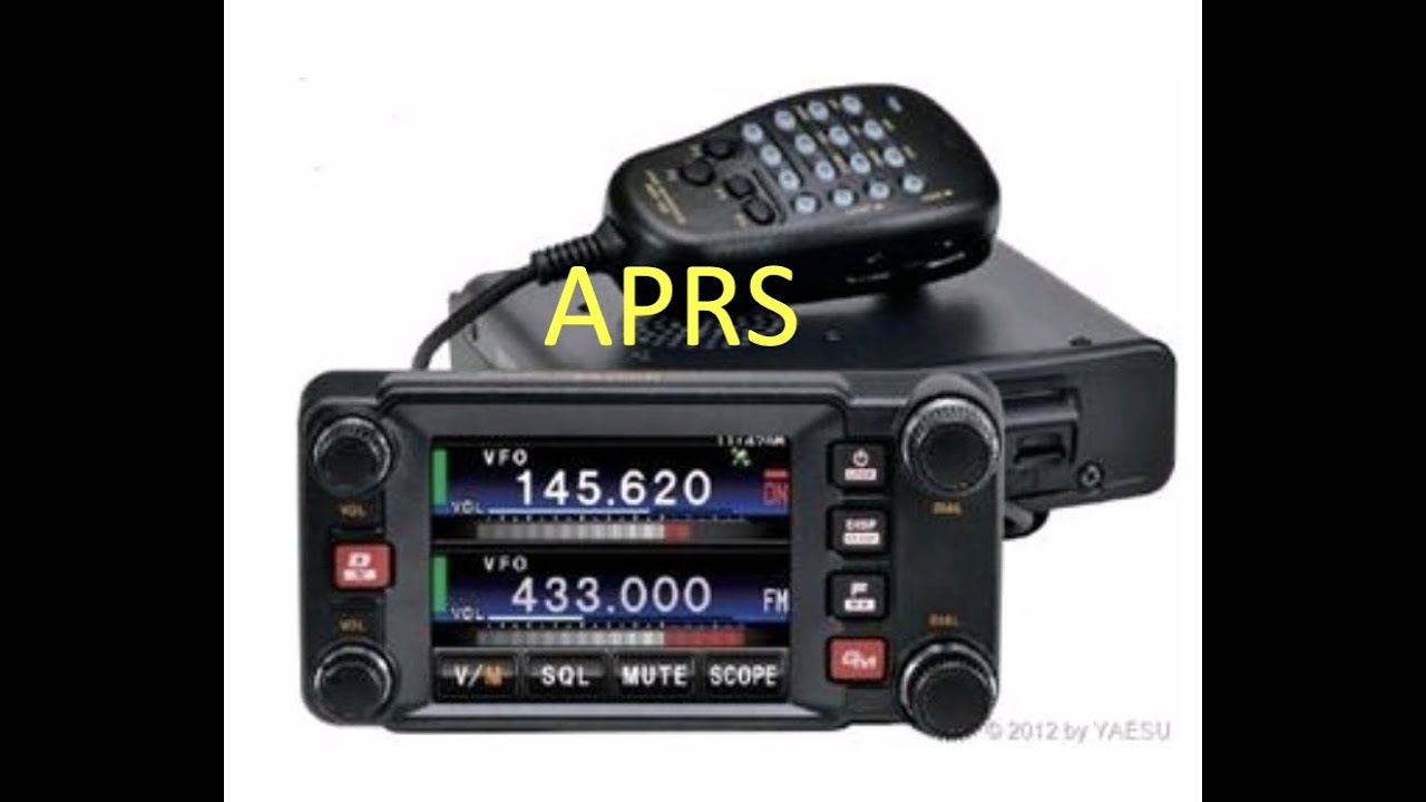 Download APRS on the FTM-400xdr by Yaesu