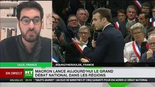 Grand débat : «Monsieur Macron vit dans une dimension parallèle»