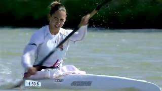 2017 ICF World Cup 2 in Szeged, Hungary, Woman's K-1 500m Heat 4. HD