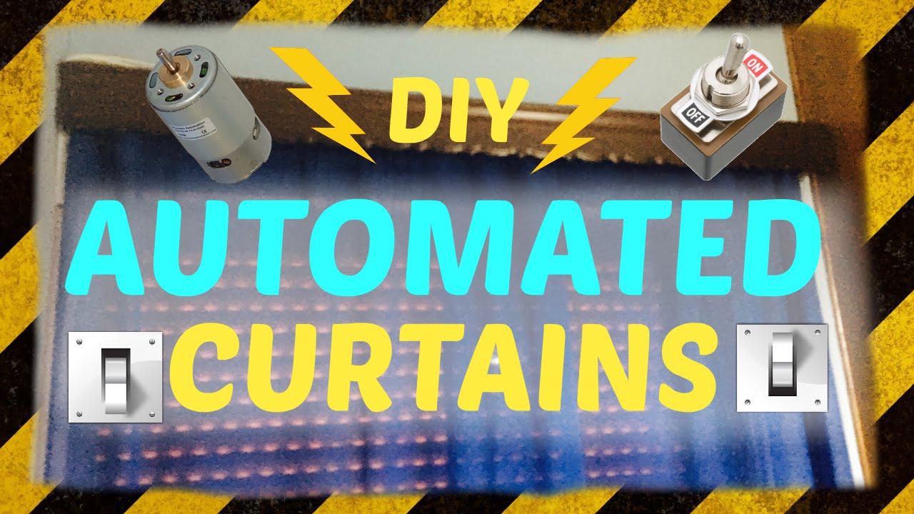 diy automatic curtains | Integralbook.com