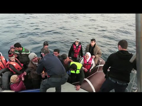 Greek National Coast Guard Rescues over 100 Refugees during Routine Patrol