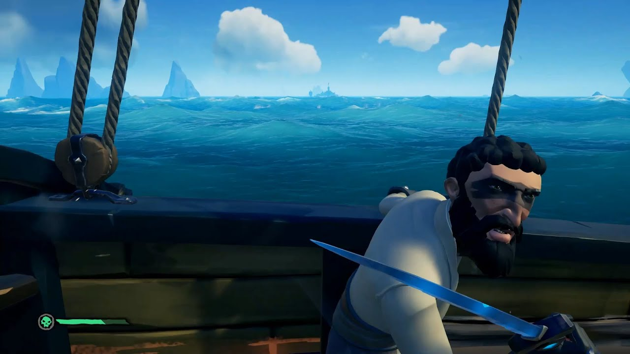how to deal with TOXIC PIRATES in sea of thieves