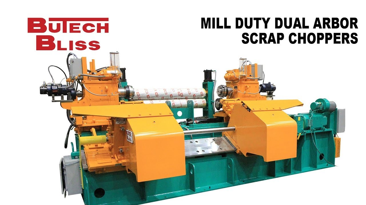 scrap choppers & side trimmers for processing steel coils